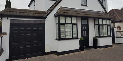 UPVC Garage Door Painting London