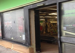 Shop Front Spraying Winchelsea