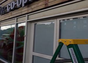 shop front spraying Rippondon
