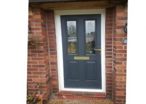 UPVC Door Spraying Cheshire