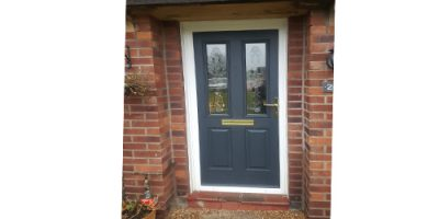 UPVC Door Spraying Cheshire