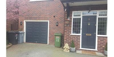 Garage Door Spray Painting Cheshire