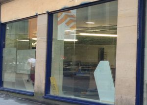 Shop Front Spraying Glasgow