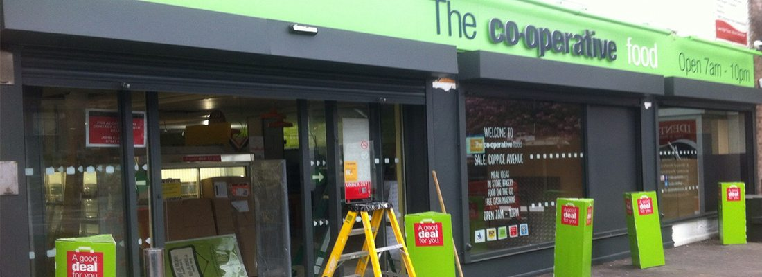 shop front spraying Sale Manchester