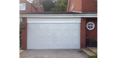 Metal Garage Door Spraying Cheshire