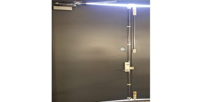 Industrial Door Spray Painting London