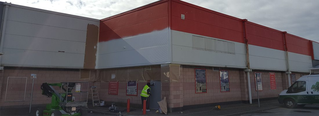 Cladding and Shop Front Barrow