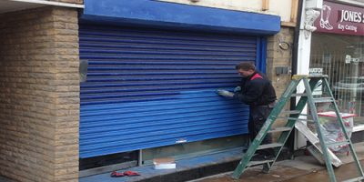 Roller Shutter Spraying Cheshire