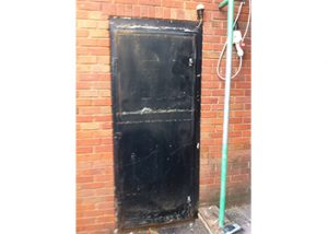 External Steel Door Spraying Birmingham