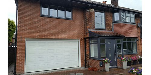 UPVC Garage Door Spraying Manchester