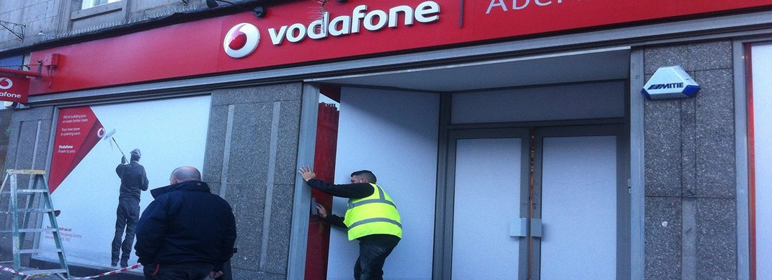Shop Front Spraying Aberdeen
