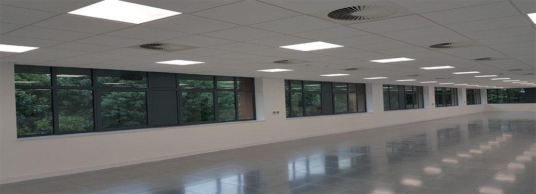 internal office windows