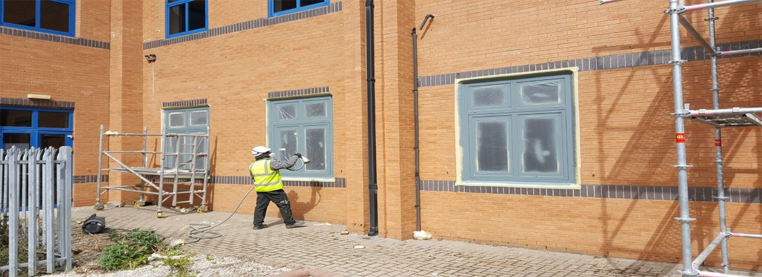 Window Spraying Manchester