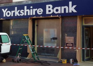 Shop Front Spraying Sunderland