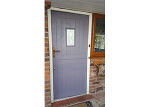 oak door Spraying Cheshire