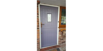 oak door Spraying Cheshire